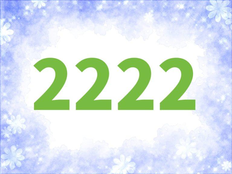 2222 エンジェル ナンバー ツインレイ